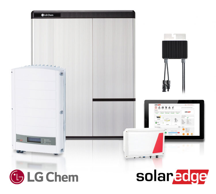 solaredge with LG Chem battery 750 673 s